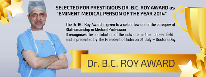 dr arvind choosen for bc roy award